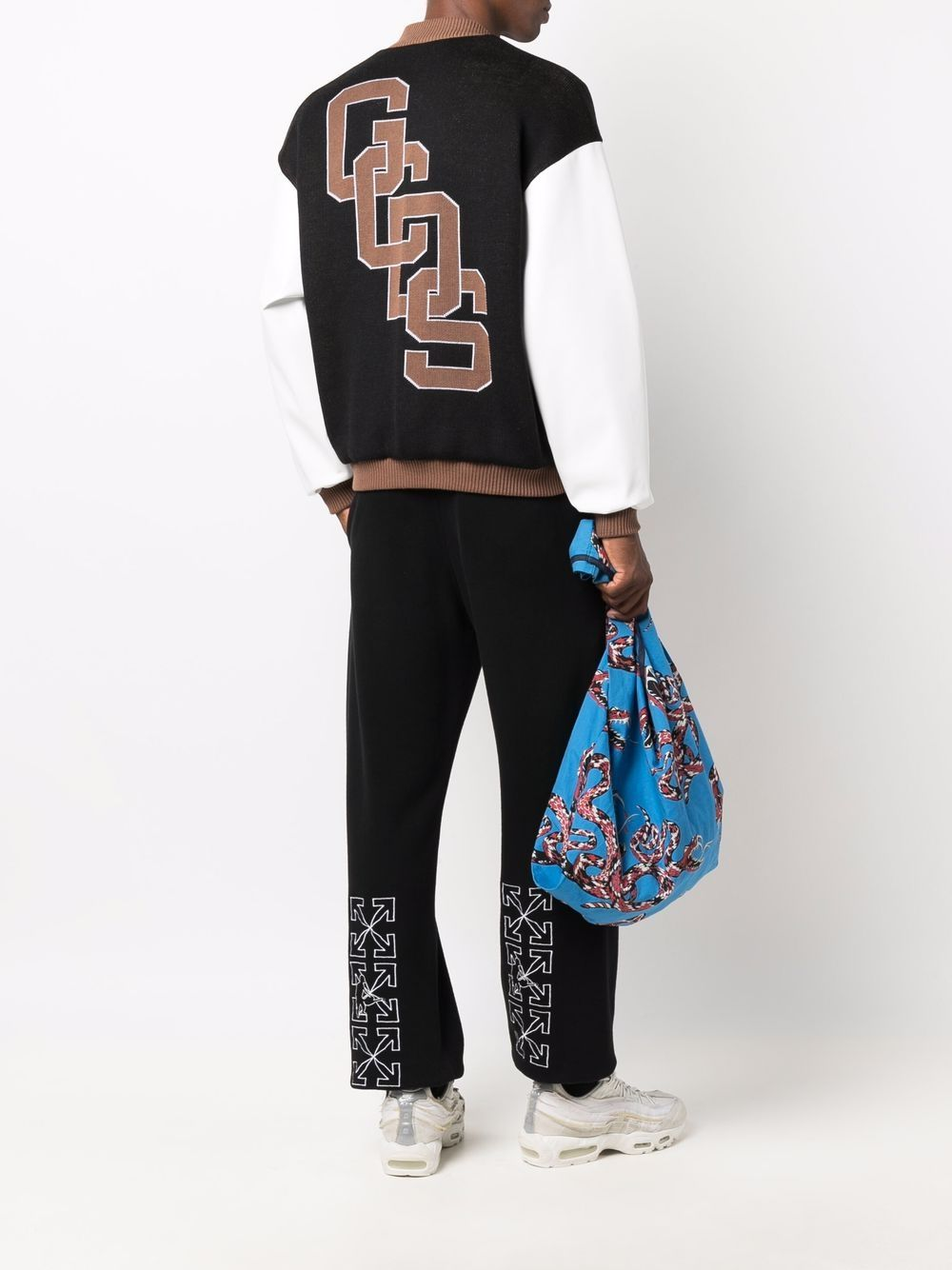 Picture of Gcds   Embroidered-Logo Bomber Jacket