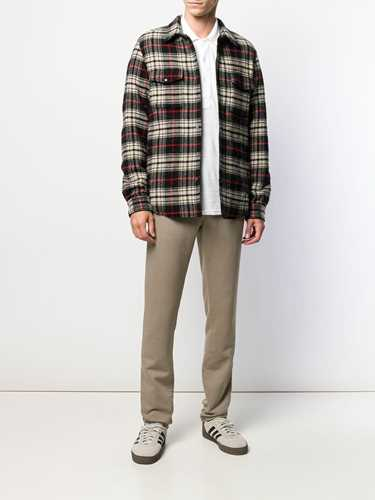 Picture of Aspesi | Long-Sleeved Plaid Shirt