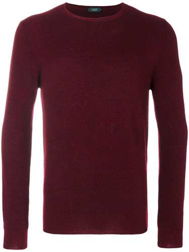 Picture of Zanone | Textured Knit Jumper