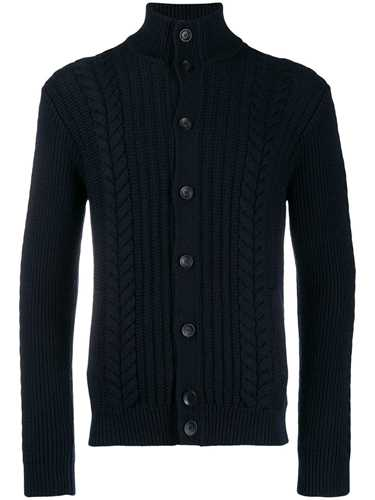 Picture of Zanone | Cable Knit Cardigan