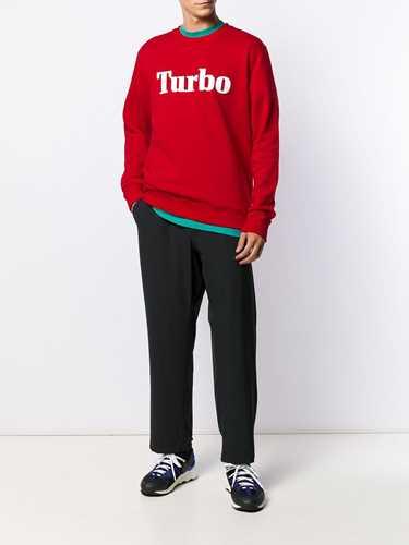 Picture of Msgm | Turbo Print Sweatshirt