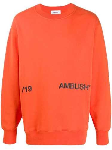 Picture of Ambush | Contrast Logo Print Sweatshirt