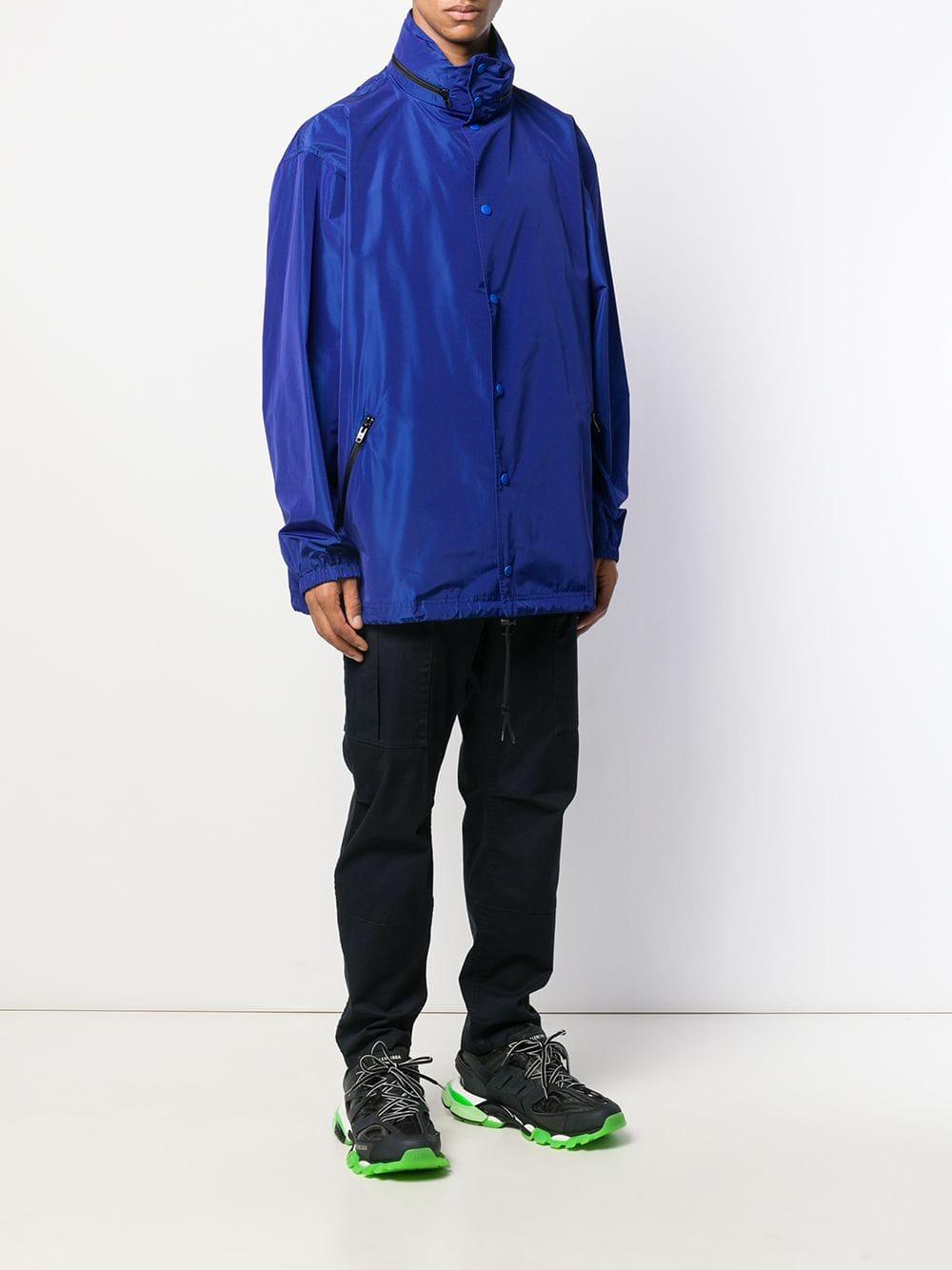 Picture of Balenciaga | Logo Raincoat
