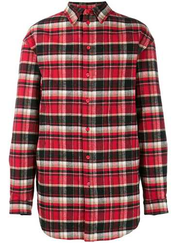 Picture of Balenciaga | Oversized Checked Flap Shirt