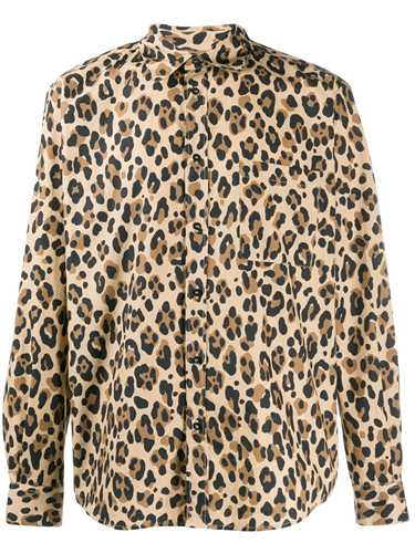 Picture of Msgm | Leopard Print Shirt