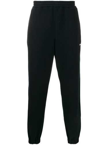 Picture of Msgm   Straight-Fit Fleece Track Pants