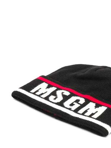 Picture of Msgm   Logo Beanie Hat