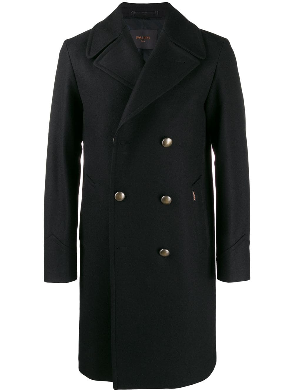 Picture of Palto` | Double Breasted Fitted Coat