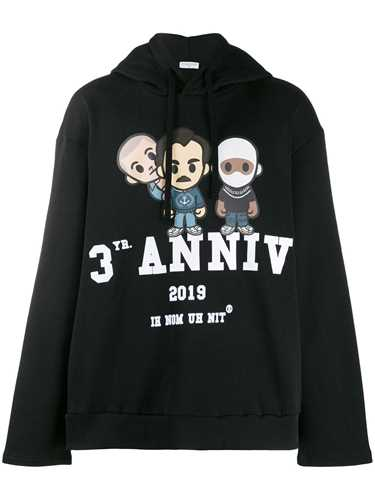 Picture of Ih Nom Uh Nit | Graphic Print Hooded Jumper