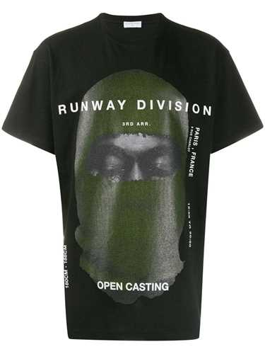 Picture of Ih Nom Uh Nit | Printed `Runway Division` T-Shirt