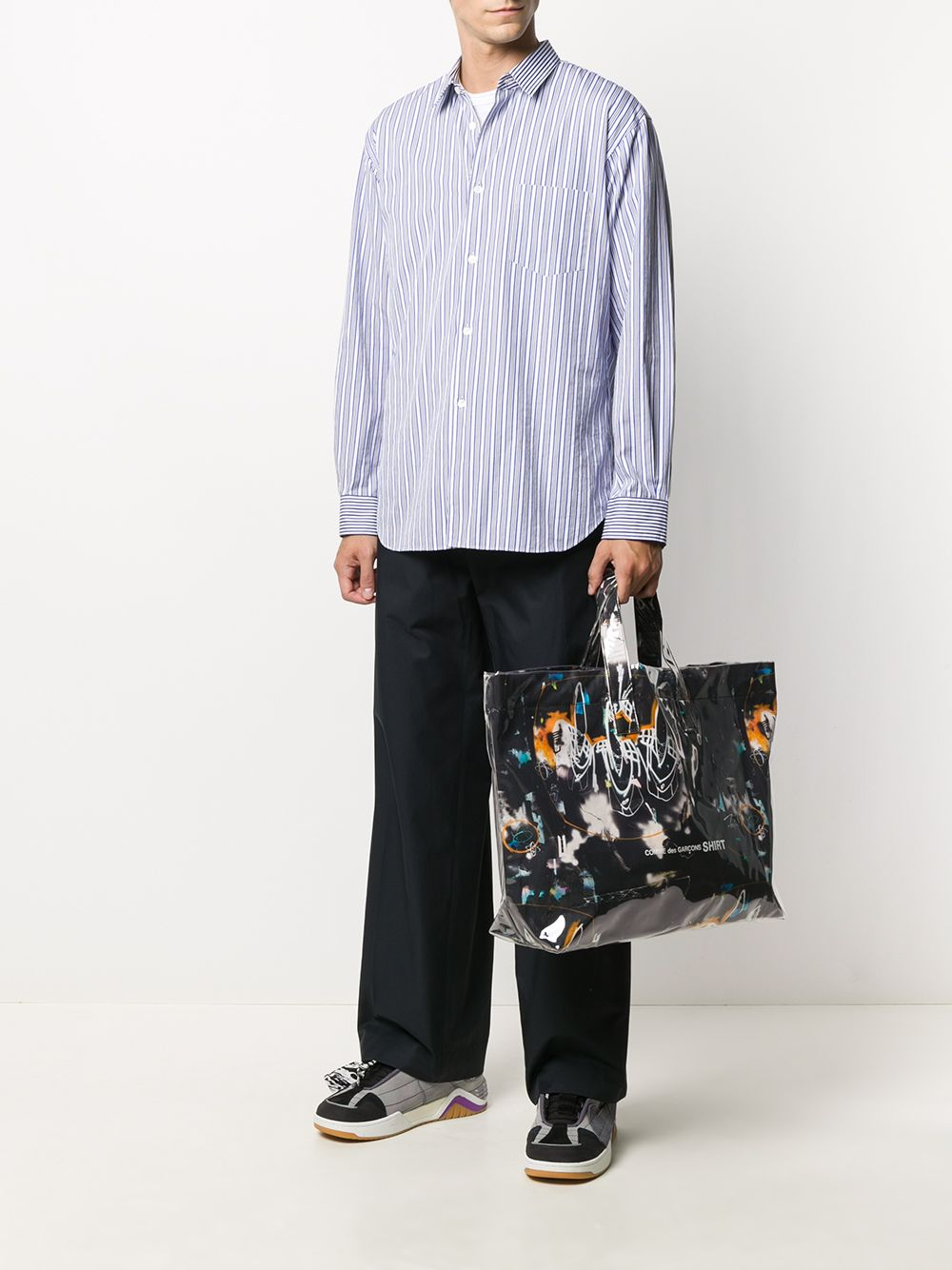 Picture of Comme Shirt | Graphic Shopping Tote