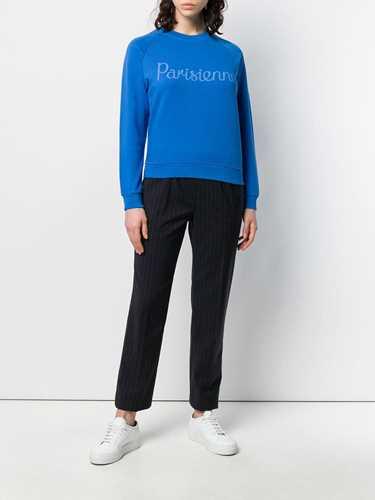 Picture of Maison Kitsune` | Parisienne Print Sweatshirt