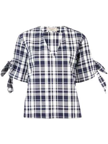 Picture of Maison Kitsune` | Checked Blouse