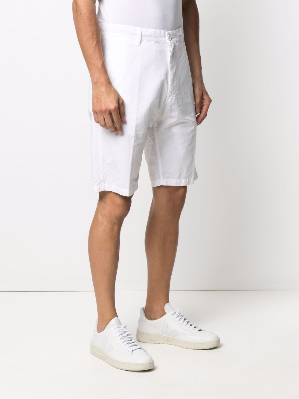 Picture of Aspesi   Knee-Length Chino Shorts