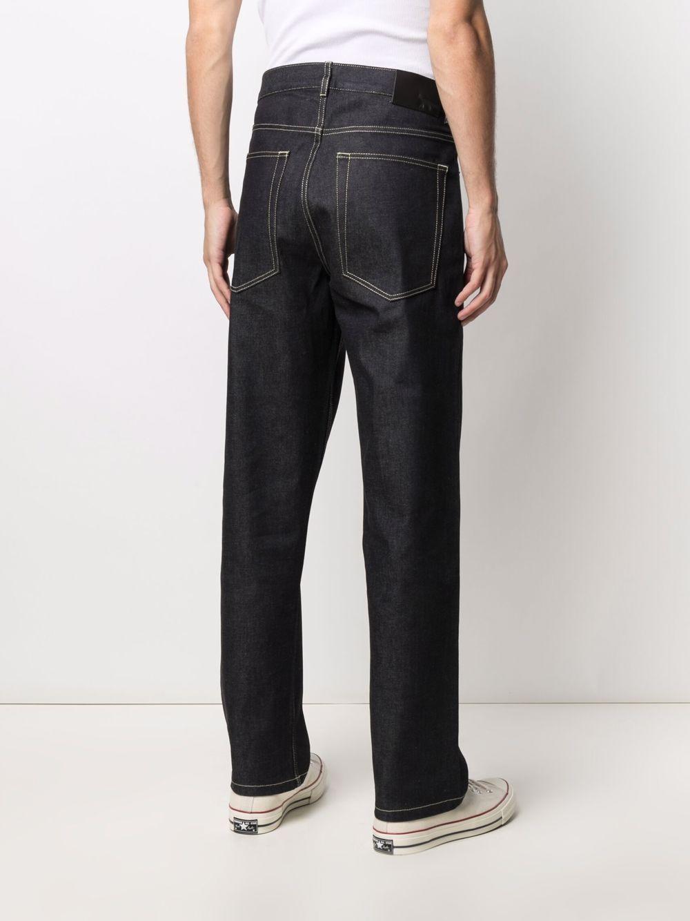 Picture of Maison Kitsune` | Mid-Rise Straight-Leg Jeans