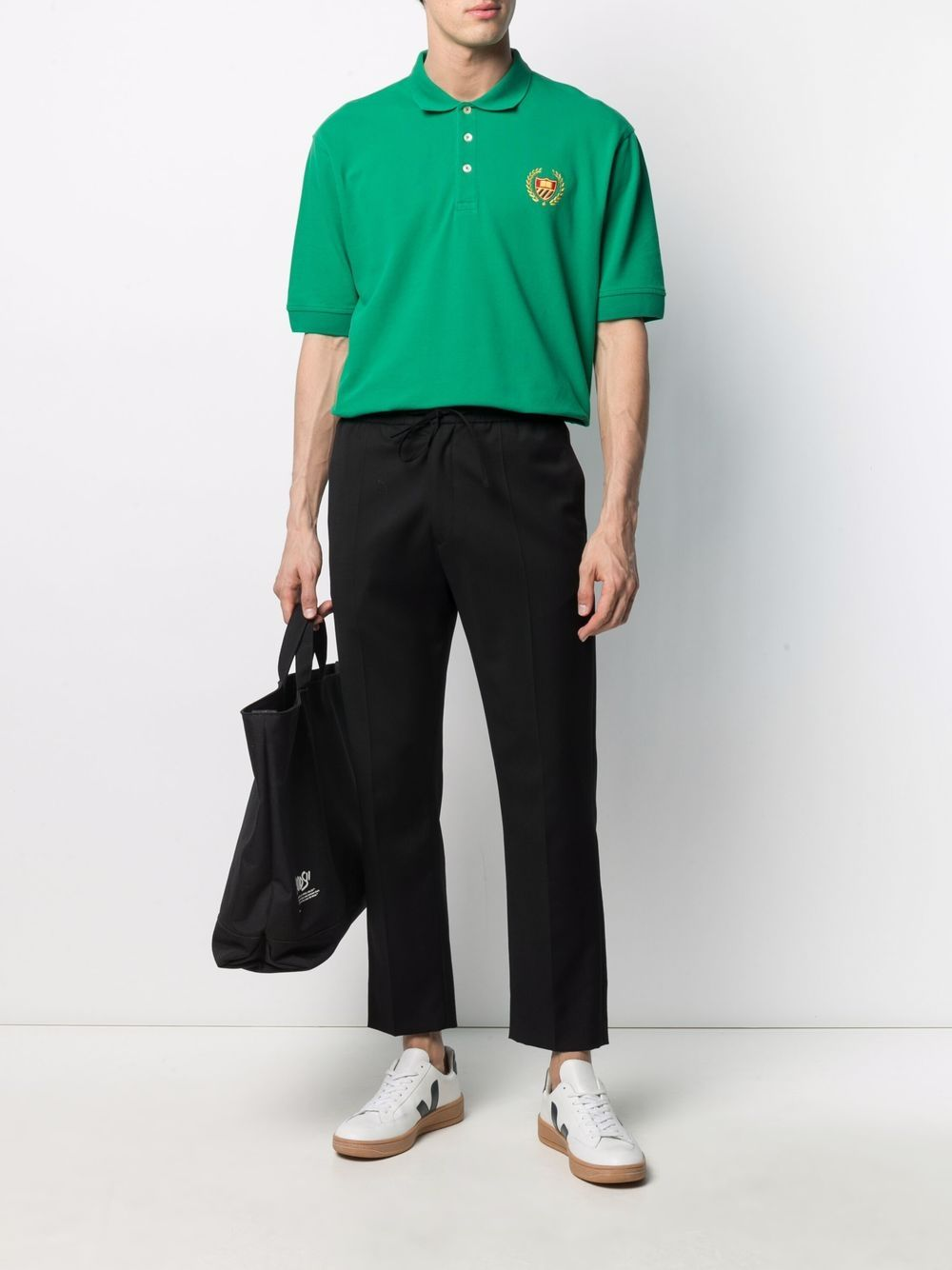 Picture of Bel Air Athletics   Logo-Embroidered Polo Shirt