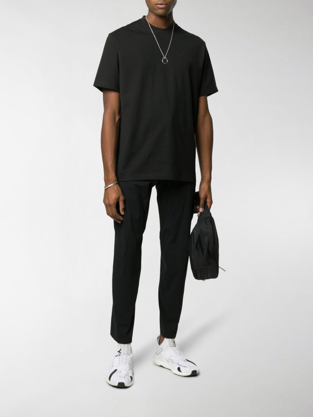Picture of Adidas Y-3 | Plain Logo T-Shirt