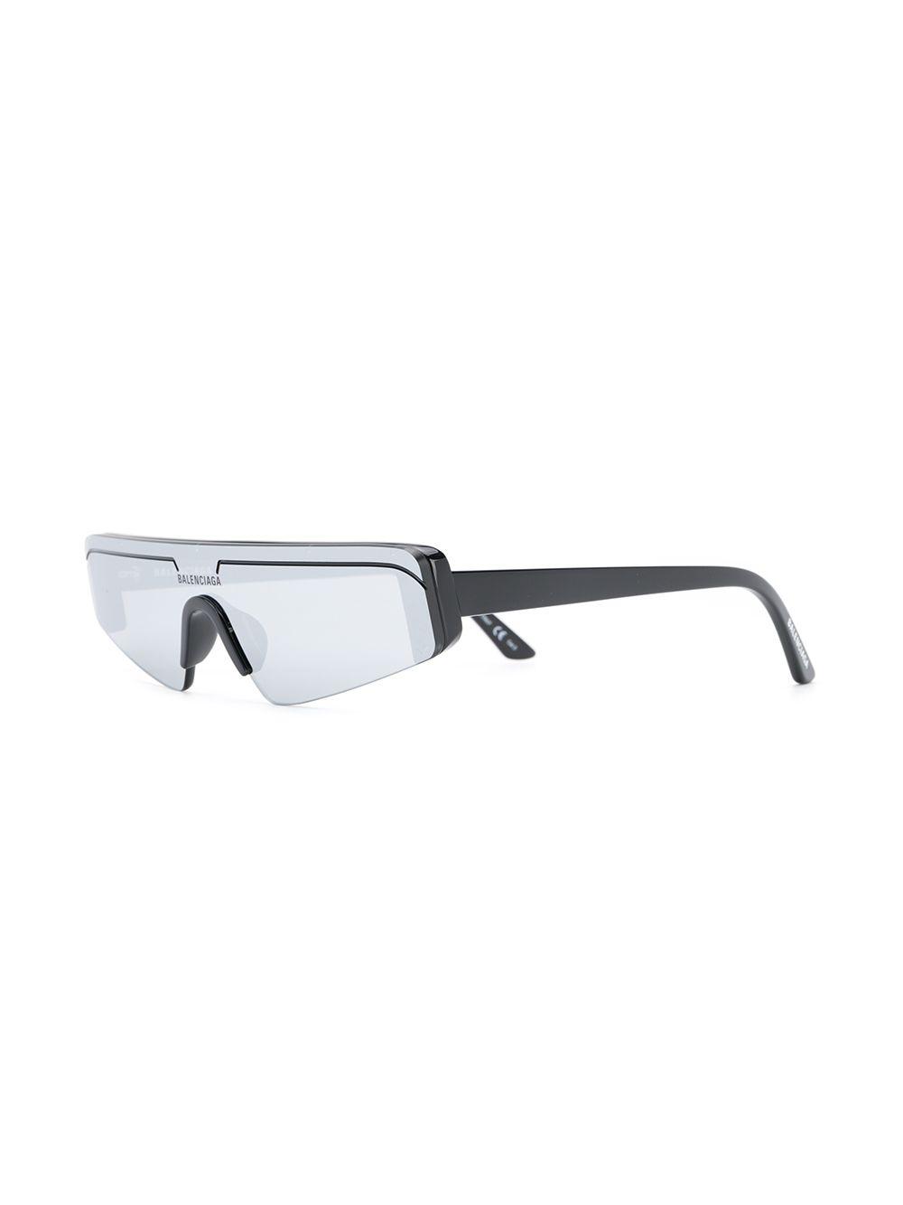 Picture of Balenciaga   Ski Rectangular-Frame Sunglasses