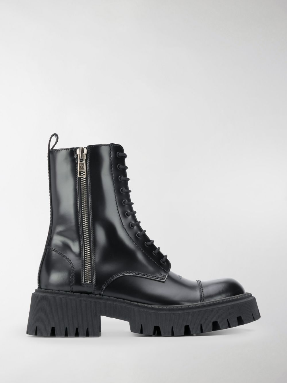 Picture of Balenciaga | Tractor 20 Mm Lace-Up Boots