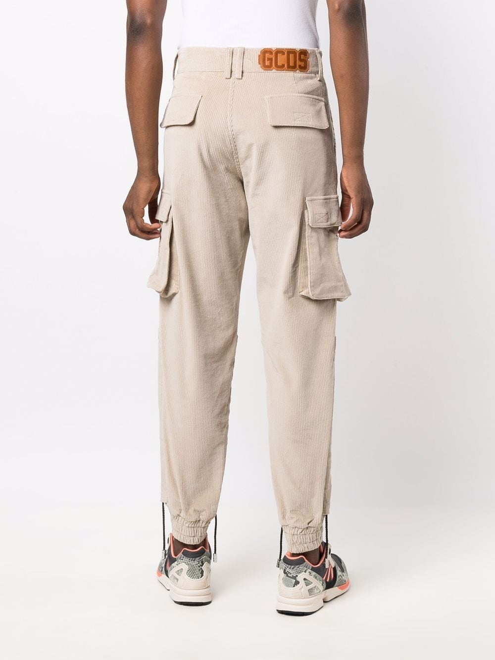 Picture of Gcds | Corduroy Cargo Trousers