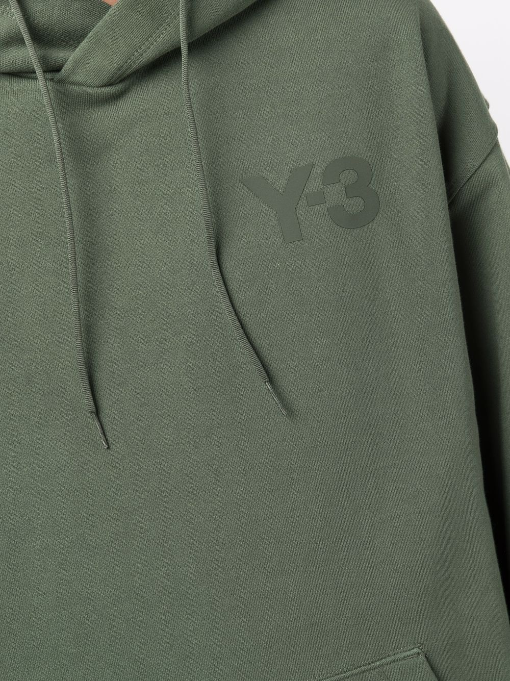 Picture of Adidas Y-3   Embroidered Logo Hoodie