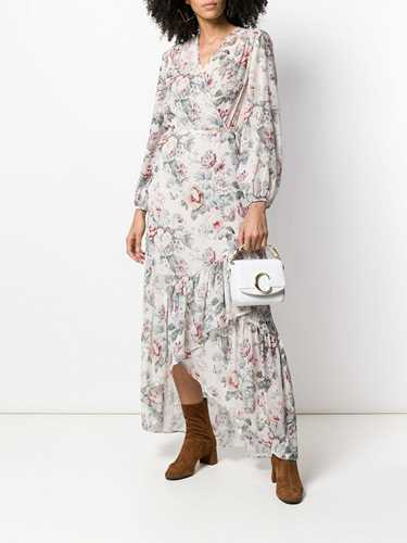 Picture of Semicouture | Floral Print Maxi Dress