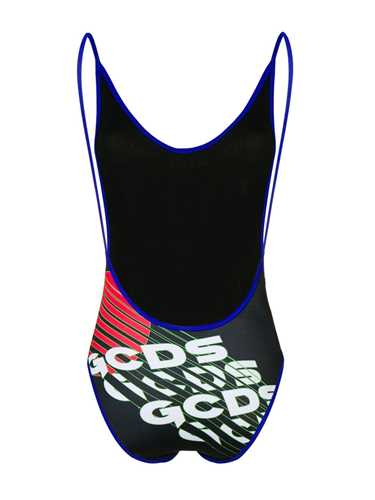 Picture of Gcds | Logo Print Swimsuit