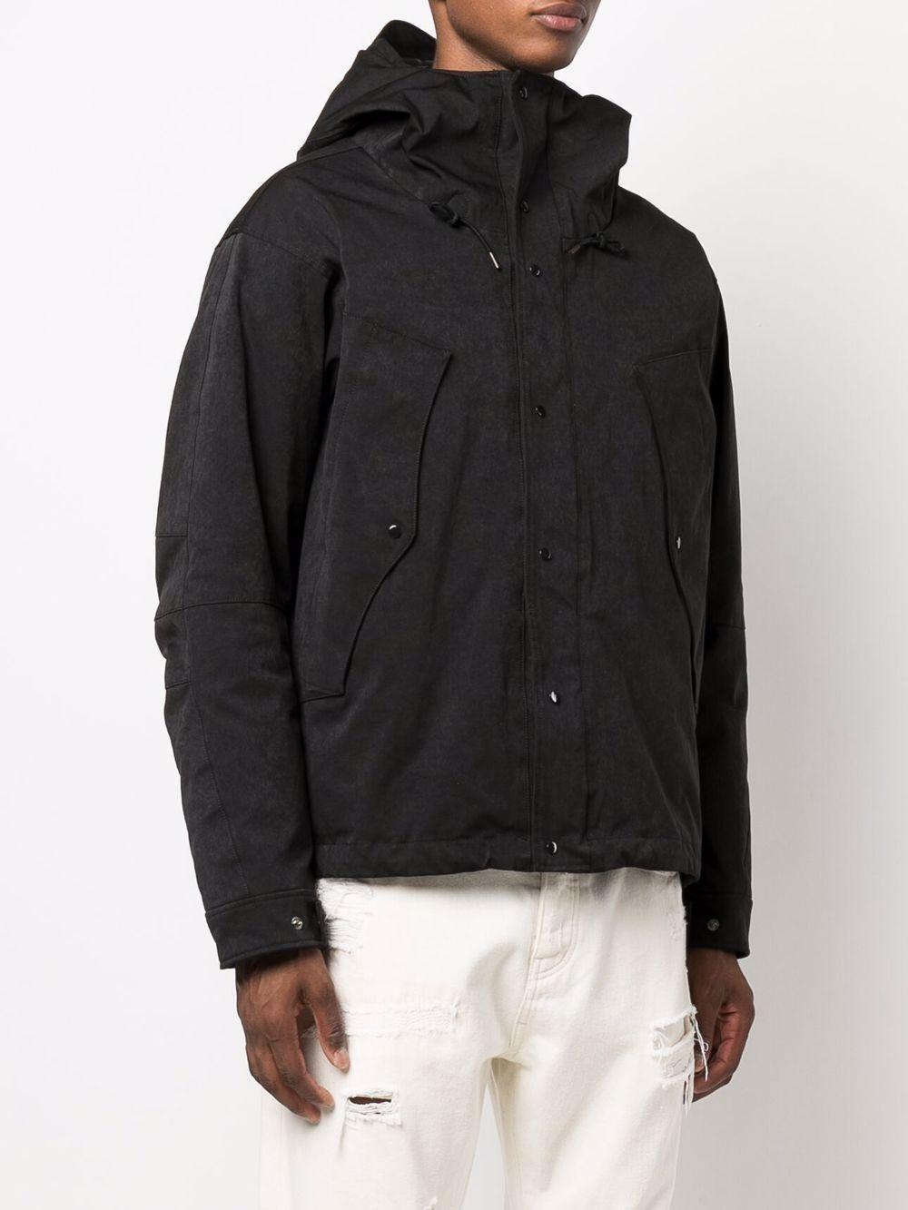 Picture of Ten C | Zip-Fastening Hooded Jacket