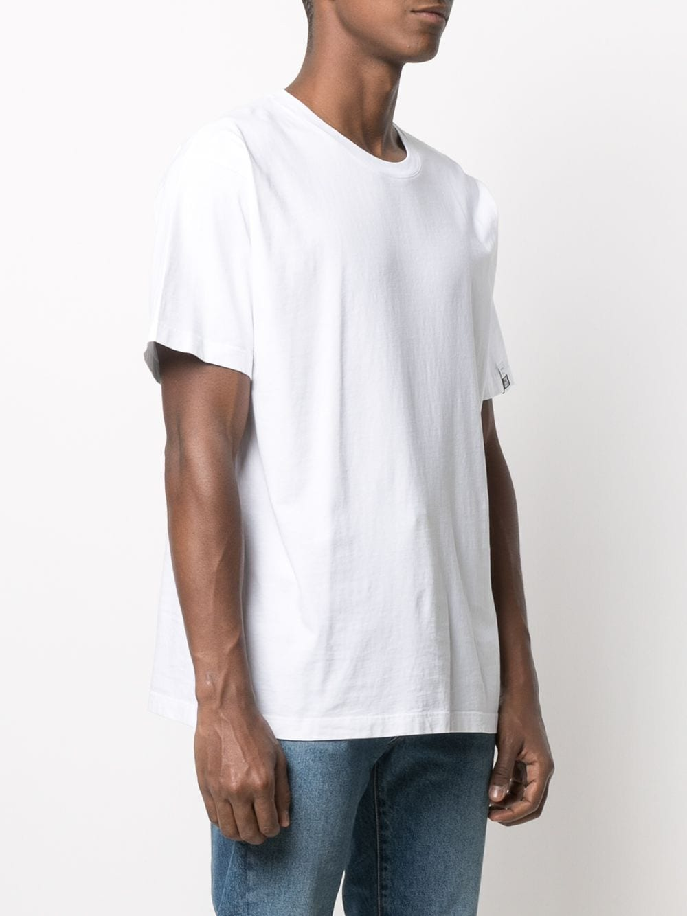 Picture of Golden Goose Deluxe Brand | Re/Make Print T-Shirt