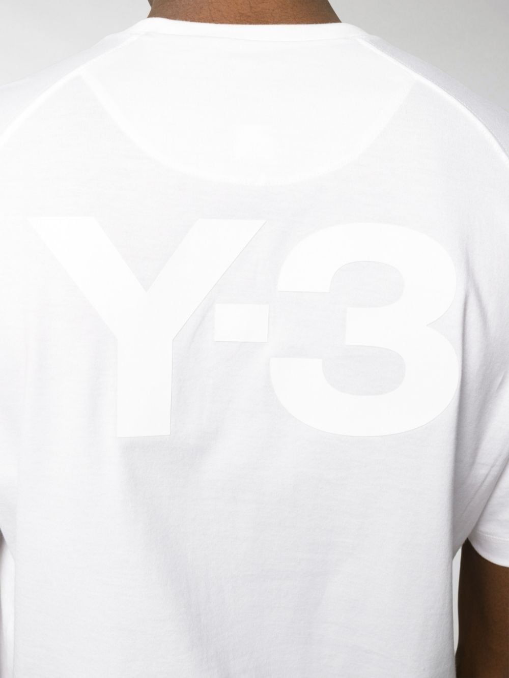 Picture of Adidas Y-3 | Short Sleeve Logo Back T-Shirt