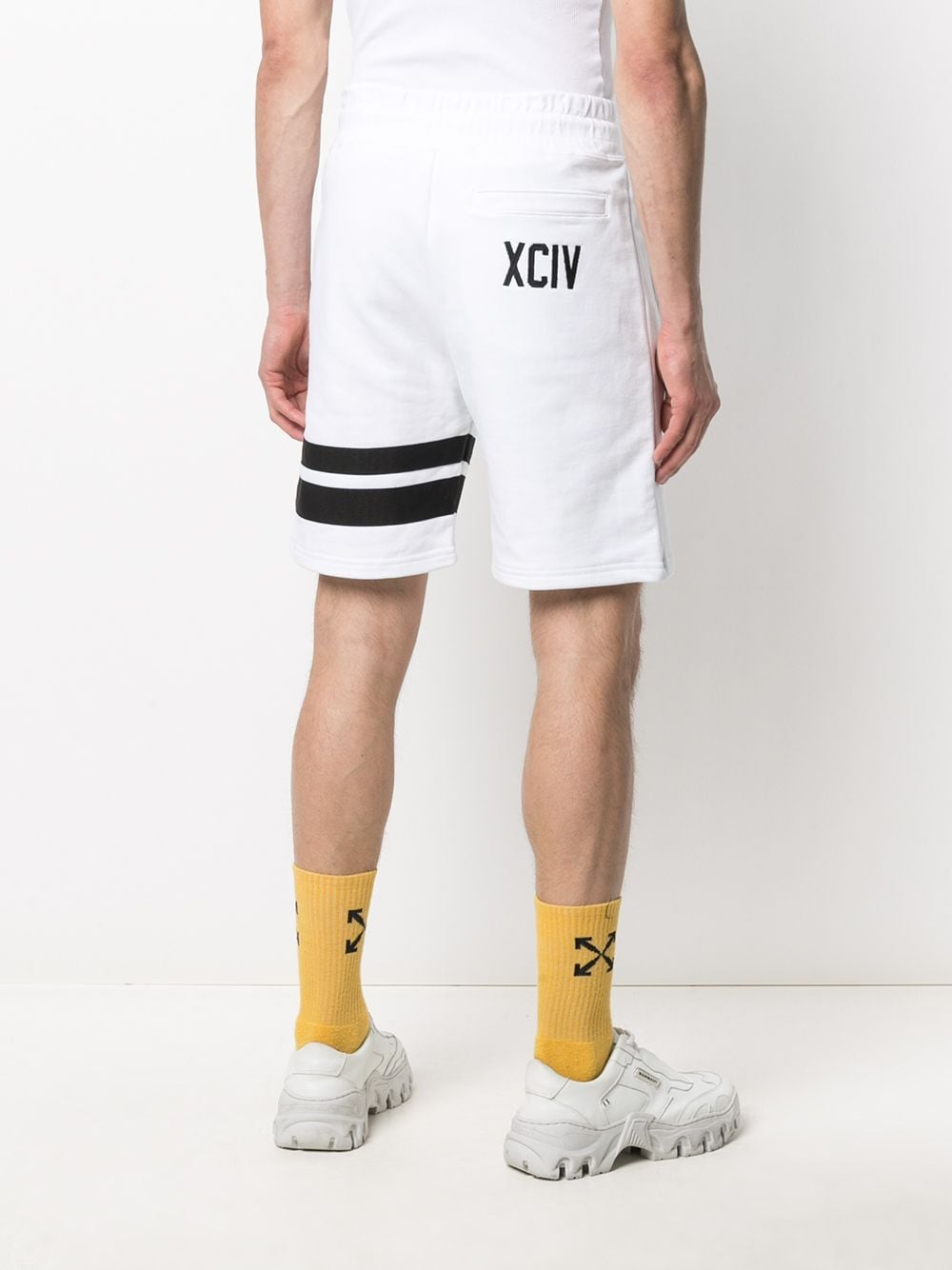 Picture of Gcds | Stripe-Detail Jogger Shorts