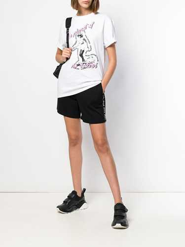 Picture of Mcq | Side-Logo Drawstring Shorts