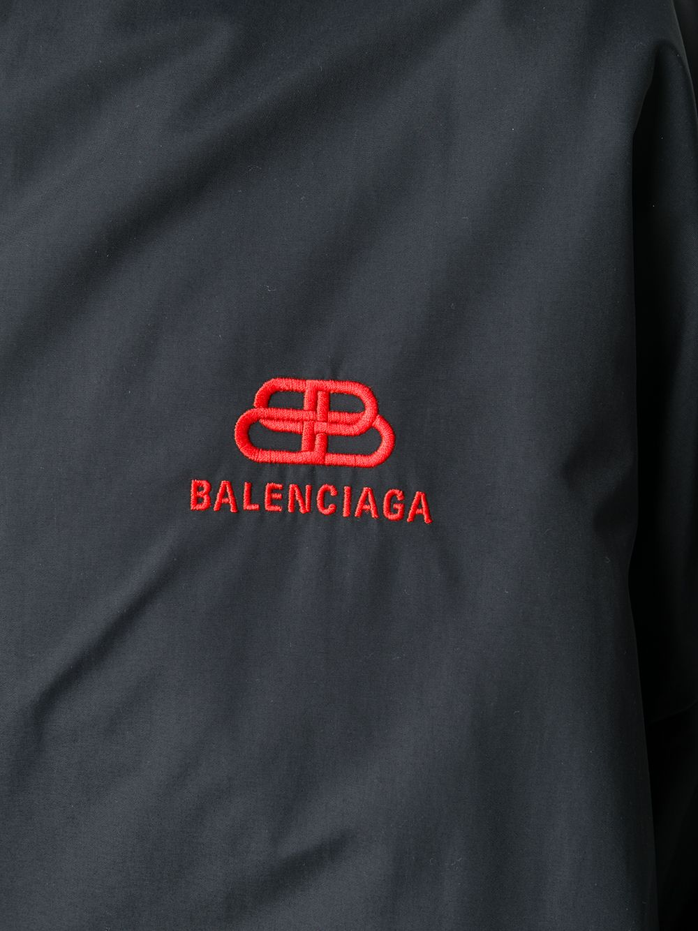 Picture of Balenciaga   Double Sleeve Zip-Up Jacket
