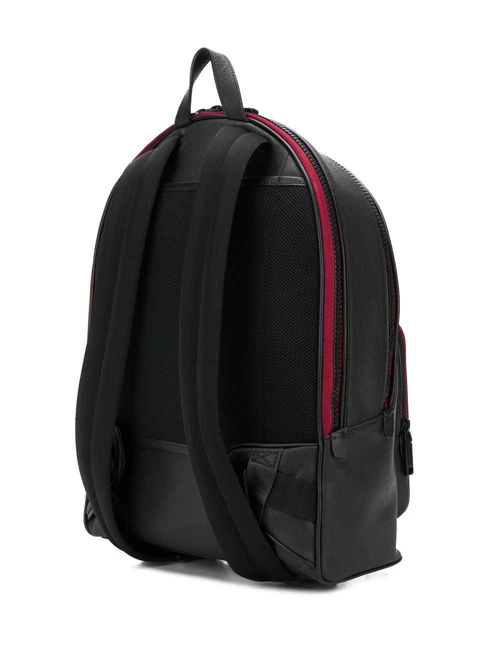 Picture of Bally | Multi-Patch Stripe Detail Backpack