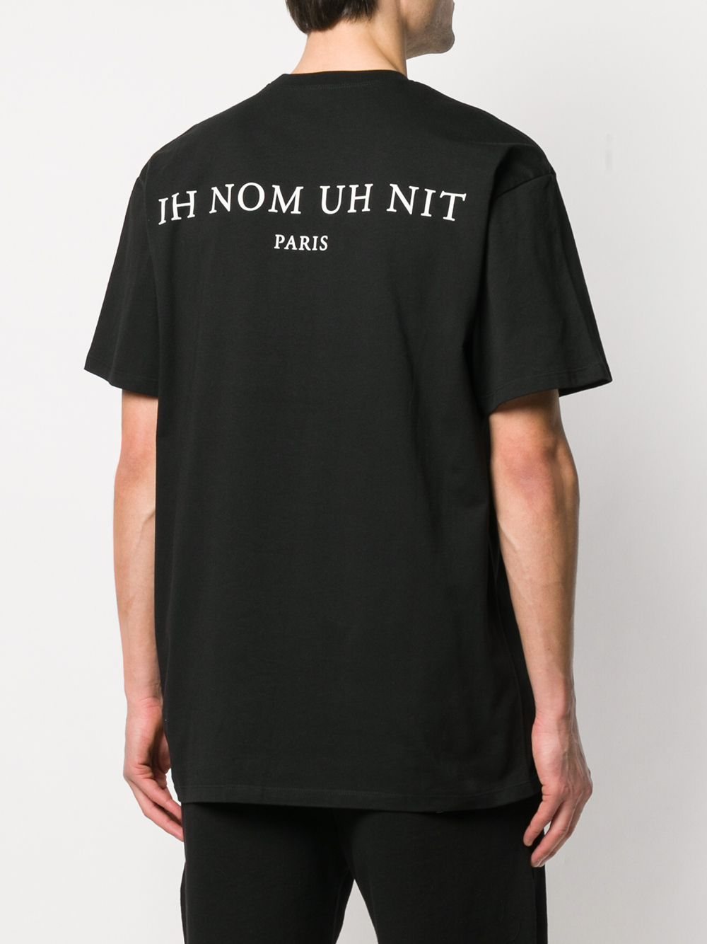 Picture of Ih Nom Uh Nit | Slogan-Print Cotton T-Shirt