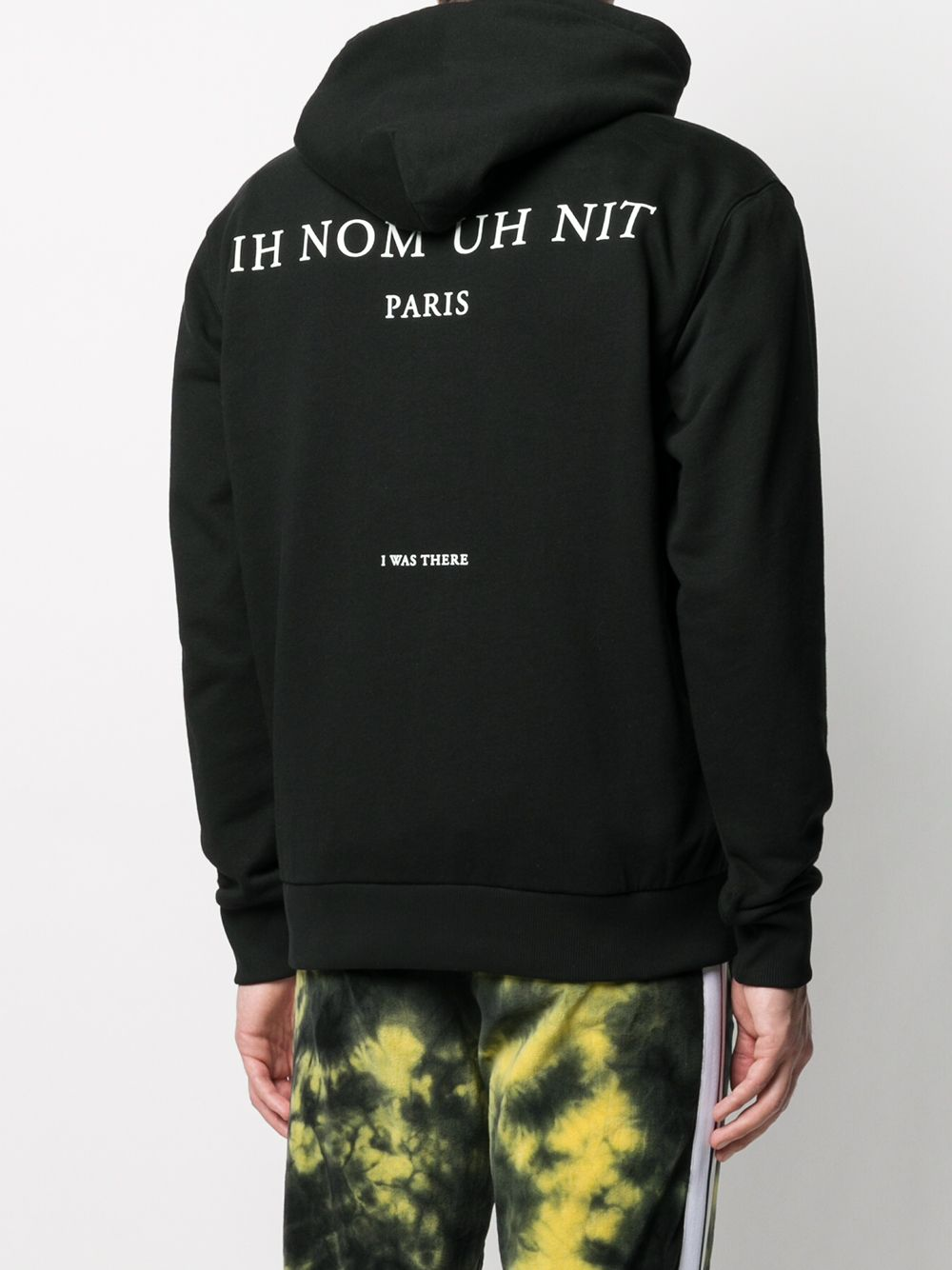 Picture of Ih Nom Uh Nit | Pablo Print Drawstring Hoodie