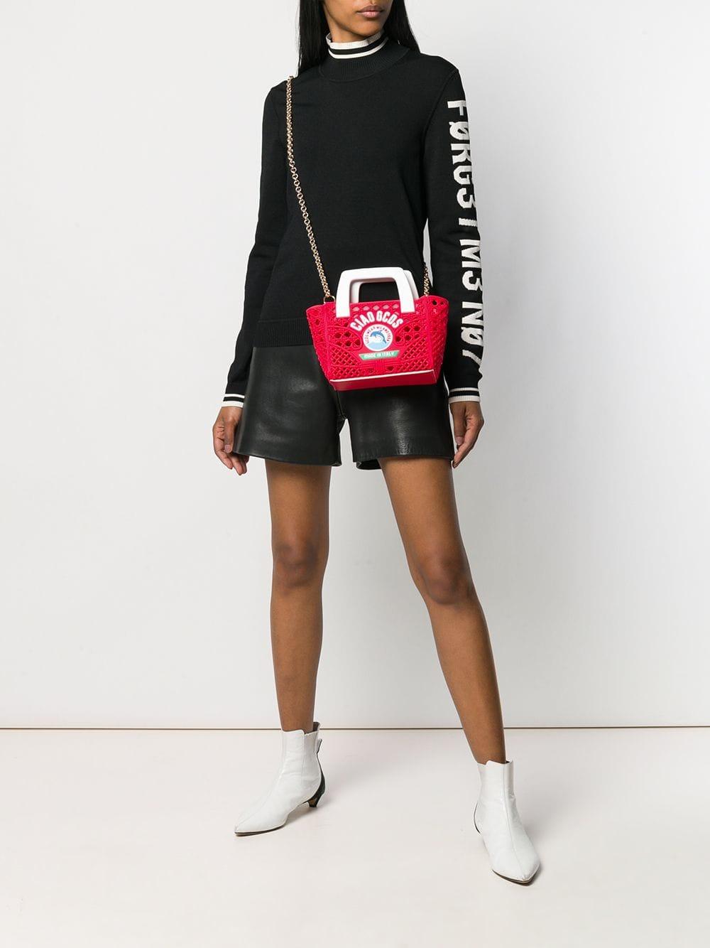 Picture of Gcds | Woven Mini Bag