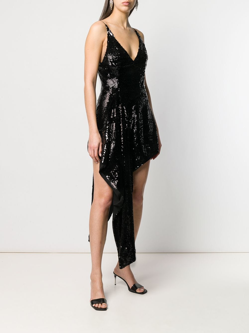Picture of 16Arlington | Sequined Asymmetric Dress