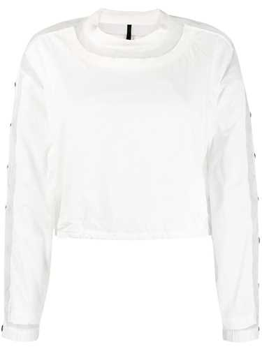 Picture of Unravel Project | Snap Button Panelled Sweatshirt