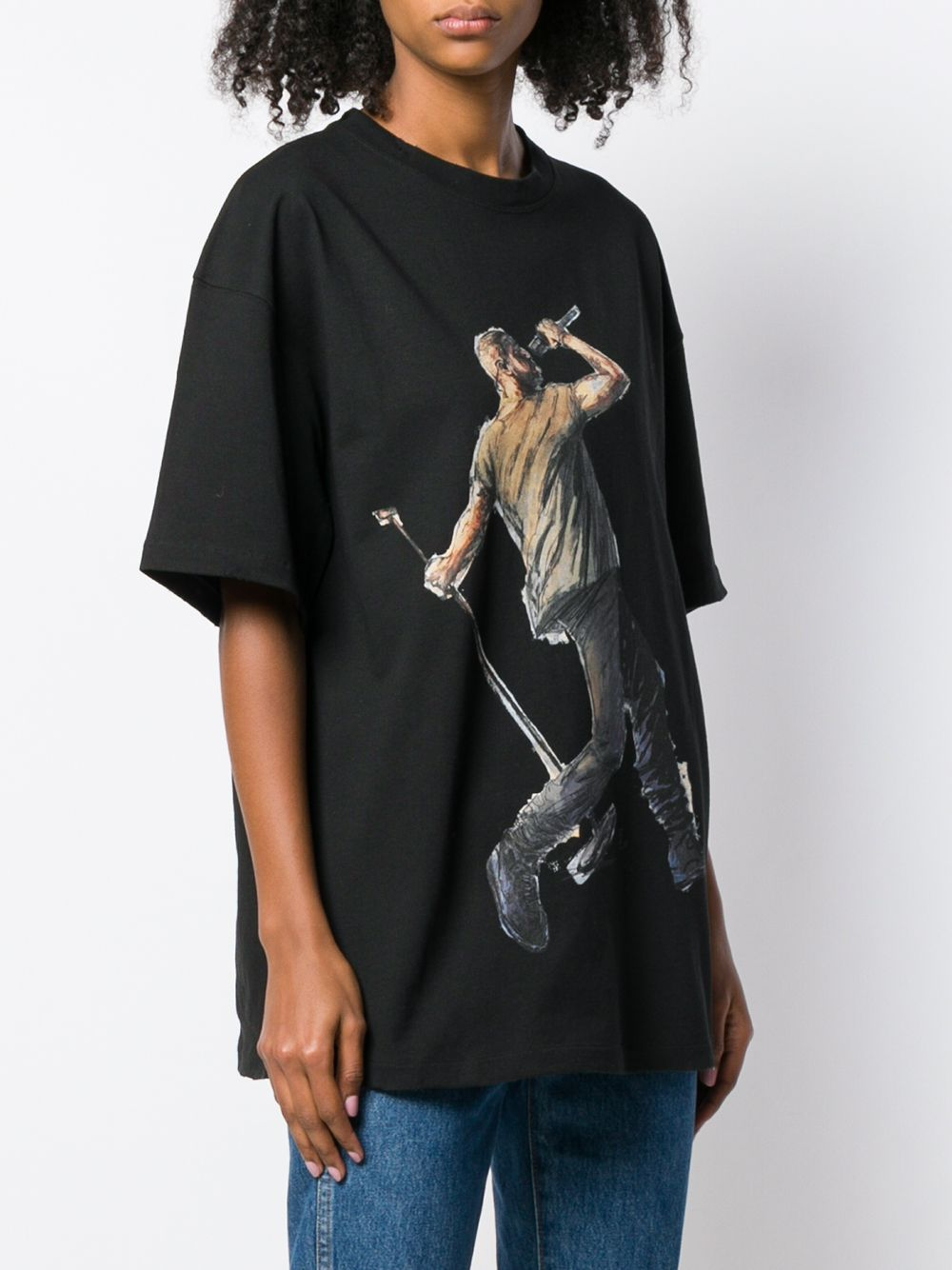 Picture of Ih Nom Uh Nit | Kanye Drake Print Oversized T-Shirt