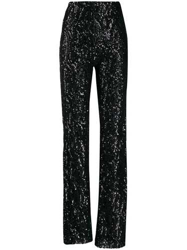 Picture of 16Arlington | Sequinned Wide Leg Trousers