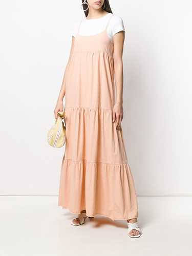 Picture of Semicouture | Panelled Maxi Dress