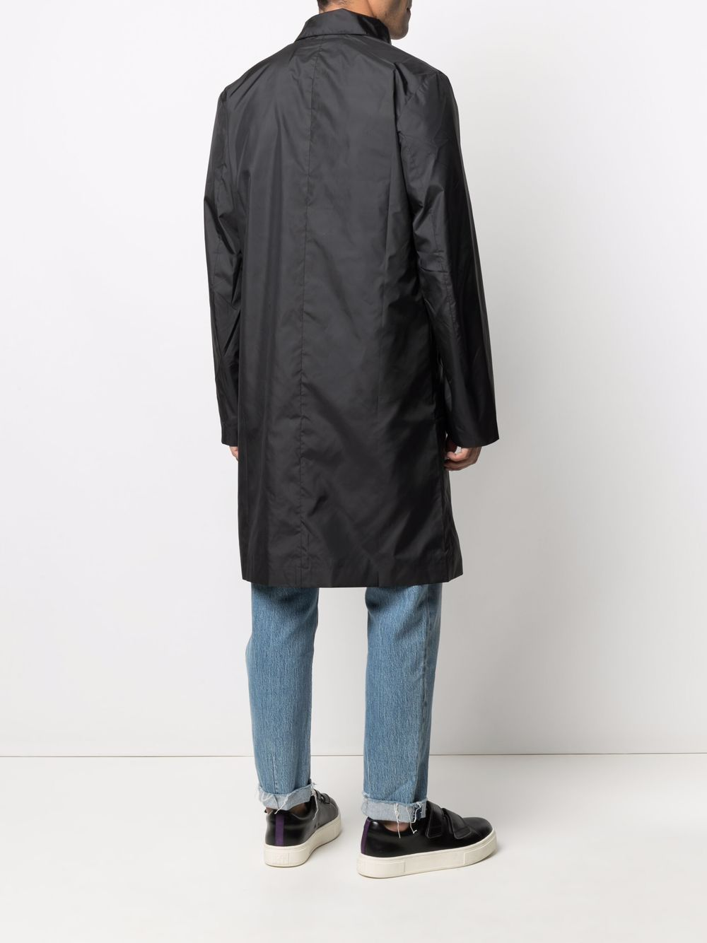 Picture of Maison Kitsune`   Single-Breasted Trench Coat