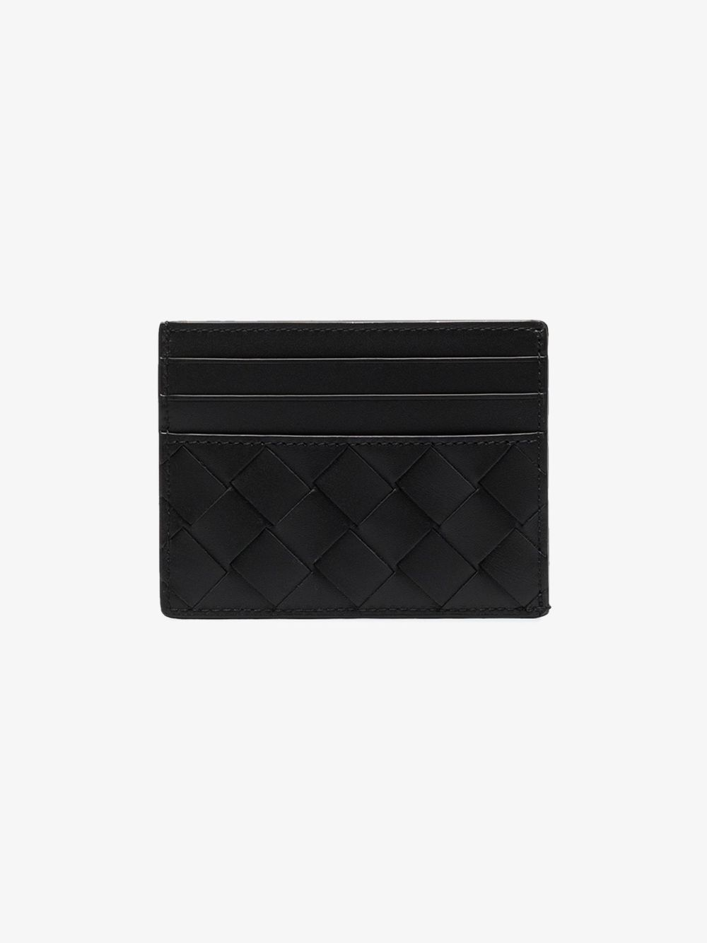 Picture of Bottega Veneta | Intrecciato Leather Cardholder