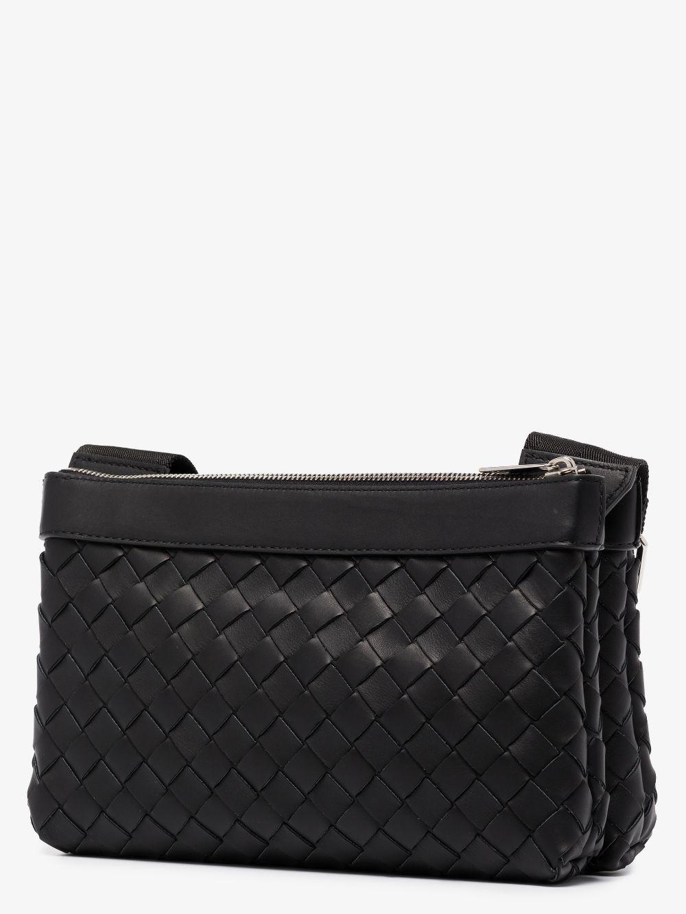 Picture of Bottega Veneta | Intrecciato Leather Messenger Bag