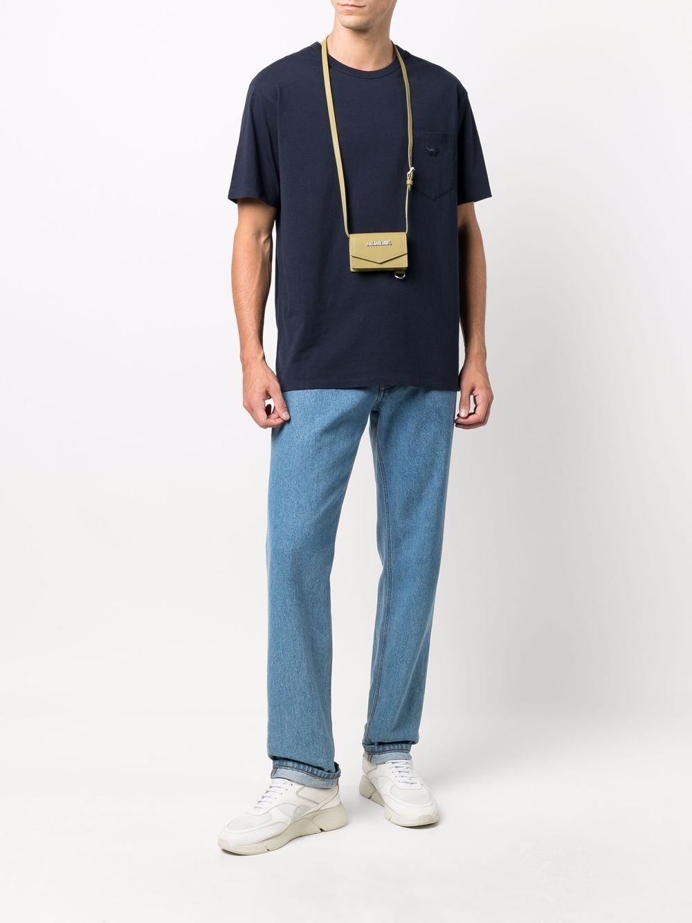Picture of Maison Kitsune`   Jersey Crewneck T-Shirt