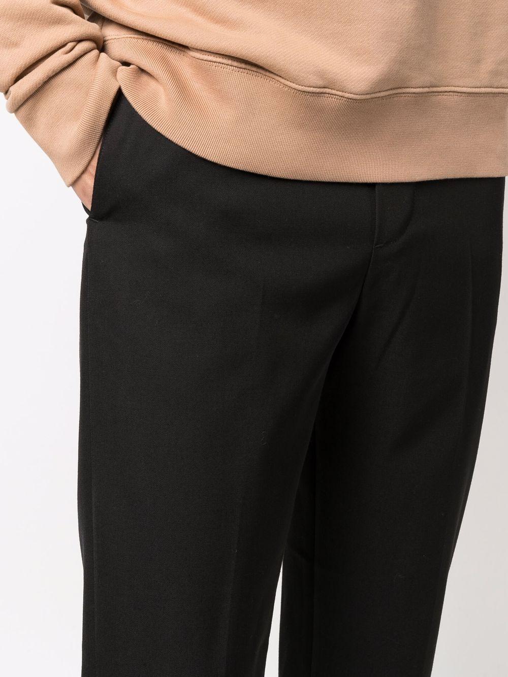 Picture of Maison Kitsune` | Drawstring-Waist Trousers