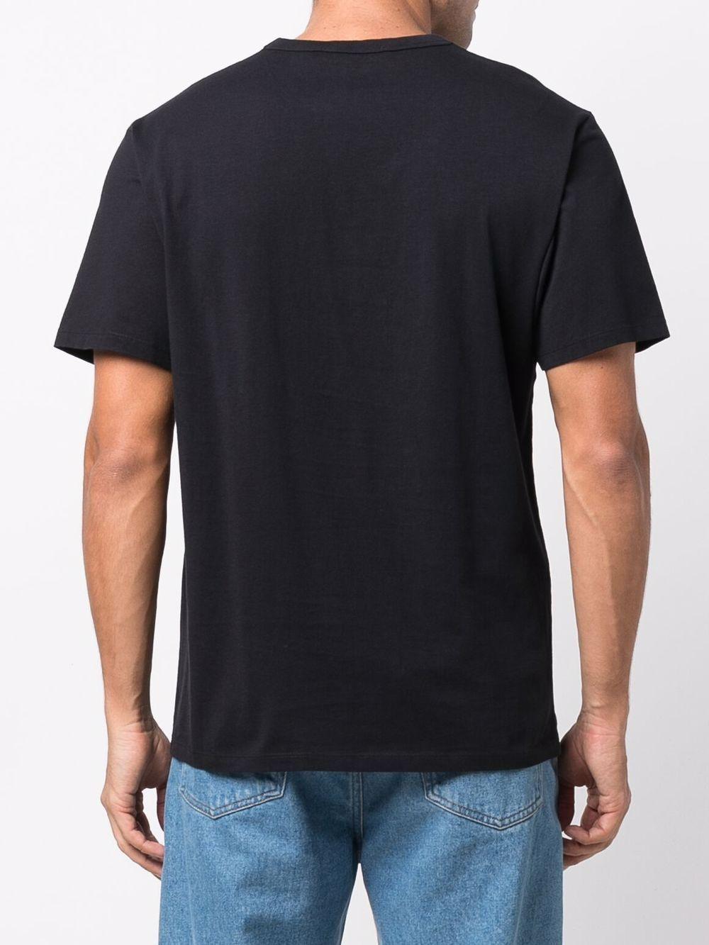 Picture of Maison Kitsune` | Logo-Print Short-Sleeved T-Shirt