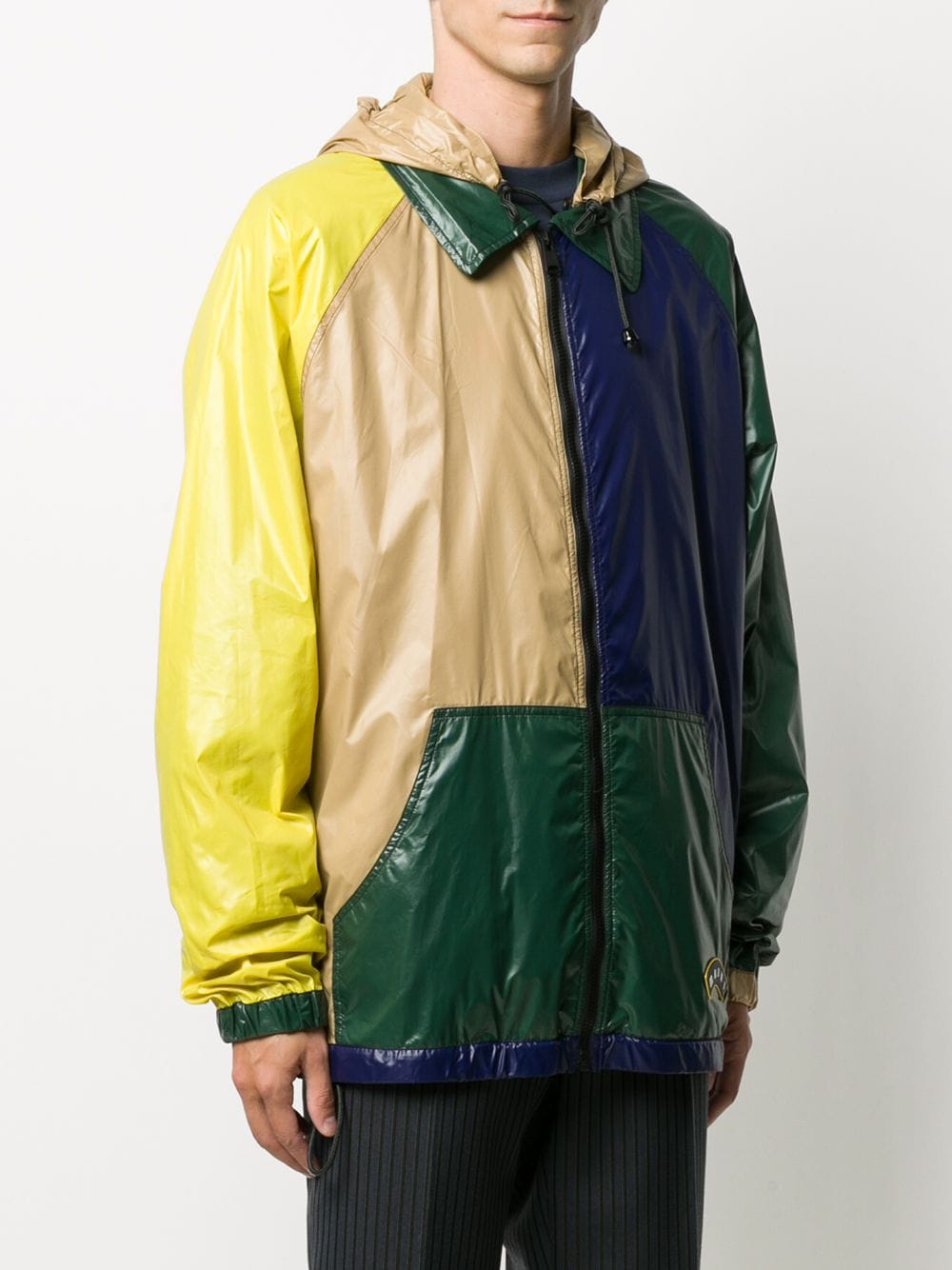 Picture of Marni | Colour-Block Hooded Jacket