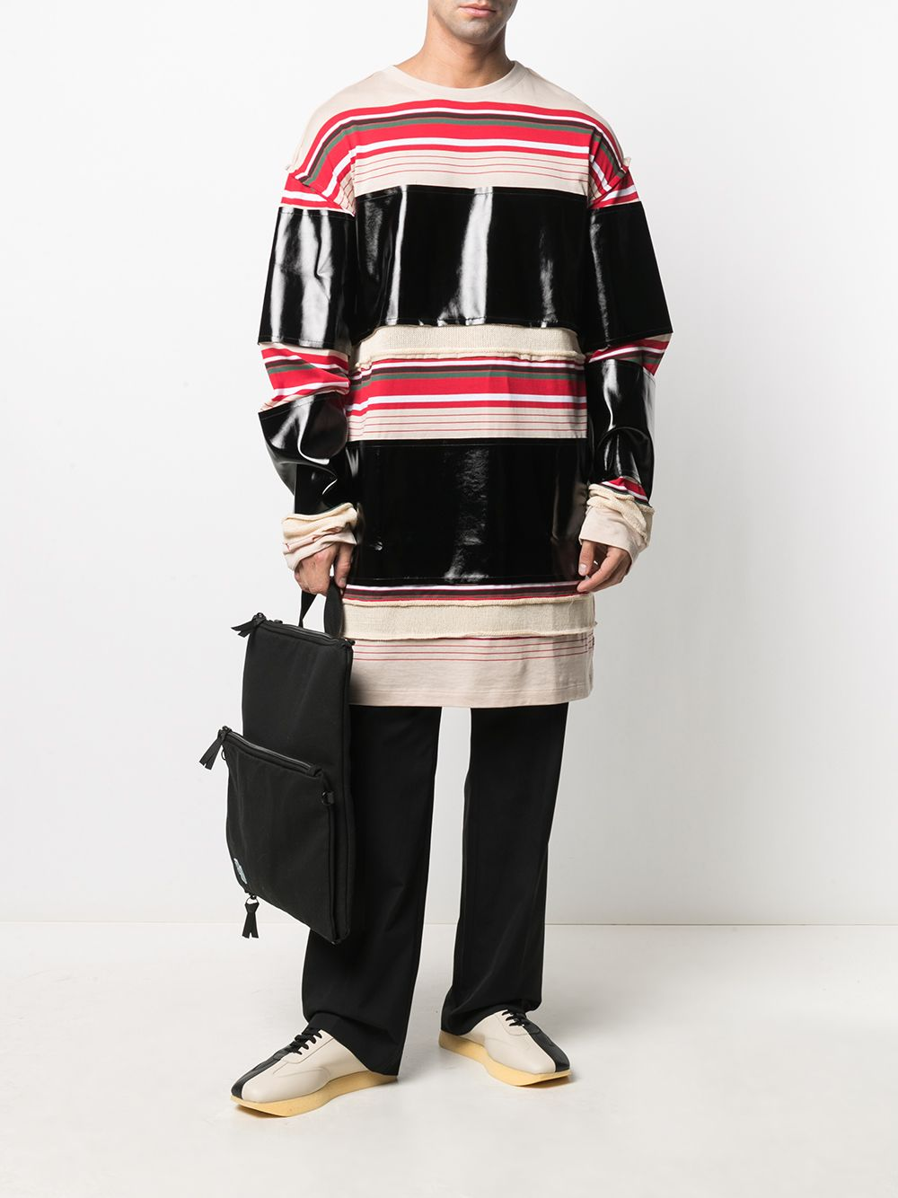 Picture of Marni | Drawstring-Waist Tailored Trousers
